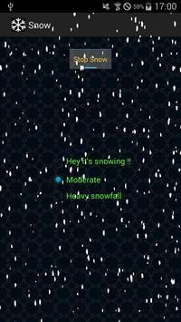 Snowing Screen apk screenshot