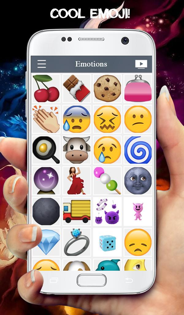 Emotions Keyboard With Emoji poster