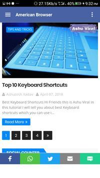 American Browser screenshot 4