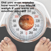 My Weight On Planet icon