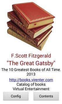 The Great Gatsby apk screenshot