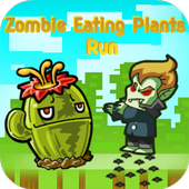 Zombies Eating Plants Run icon