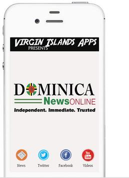 Dominica News On Apps poster