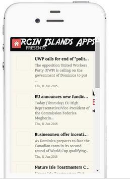 Dominica News On Apps apk screenshot