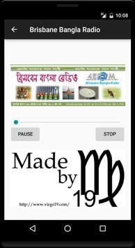 Brisbane Bangla Radio poster