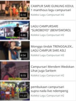 Koleksi Lagu Campursari screenshot 2
