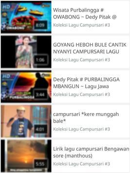 Koleksi Lagu Campursari screenshot 3