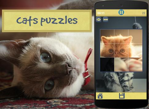Cats Puzzles poster