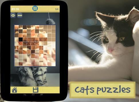 Cats Puzzles screenshot 5