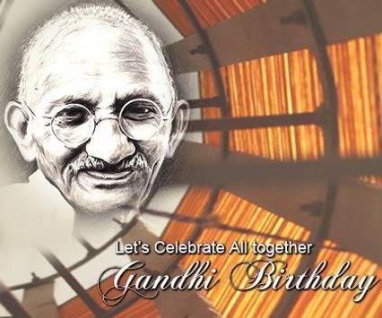 Gandhi Jayanti Images poster