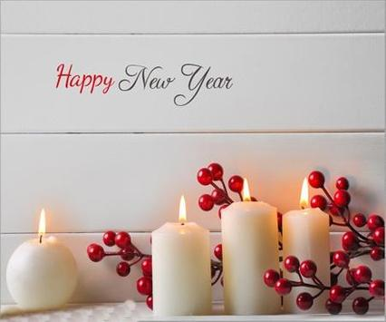 Happy New Year 2017 poster