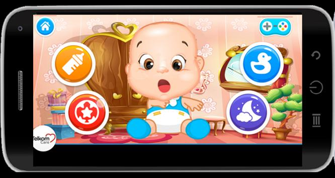 Baby Caring Games for Girls screenshot 2