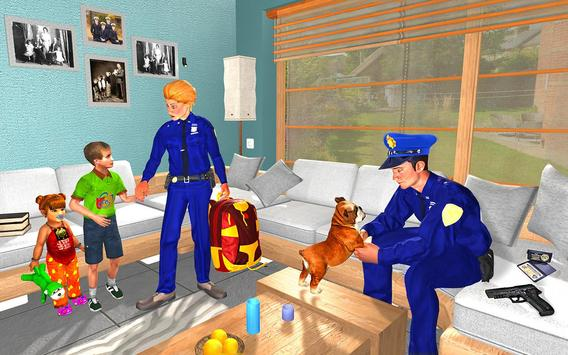 Virtual Family Life Adventure: Police Games 2018 screenshot 2