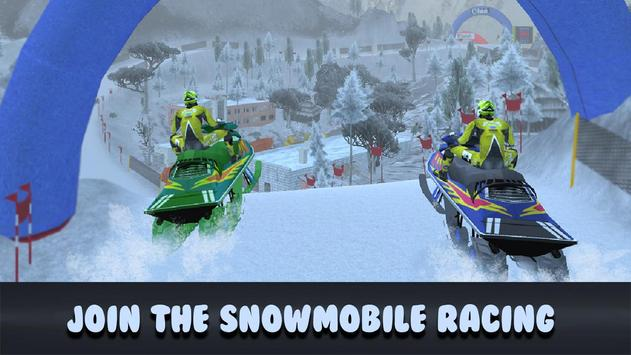 Extreme Moto Bike Snow Racing poster