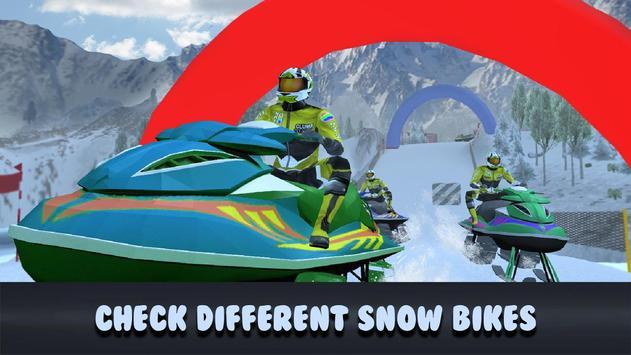 Extreme Moto Bike Snow Racing apk screenshot