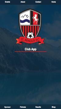 St Aengus Football Club poster