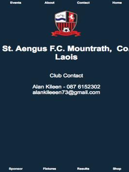 St Aengus Football Club apk screenshot