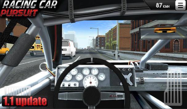 Racing Car Pursuit poster