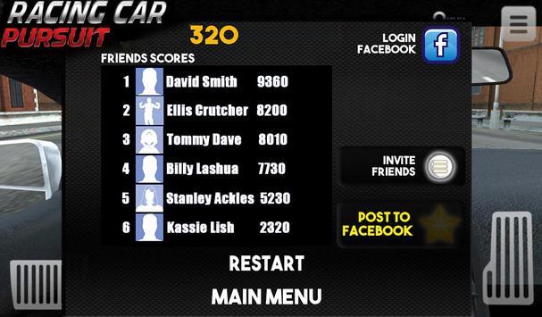 Racing Car Pursuit screenshot 7