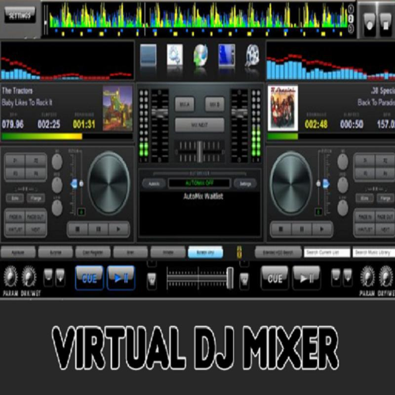 Virtual DJ Mixer For Android