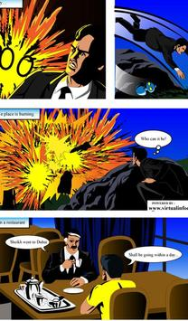 action comics poster