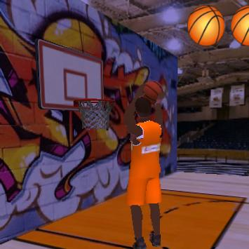 Basket Ball 3D poster