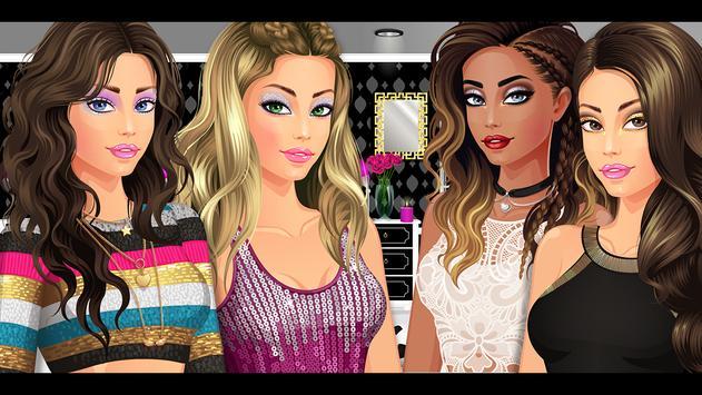 DRESS UP STAR™ 👗 Cool Fun Makeup Games for Girls screenshot 14