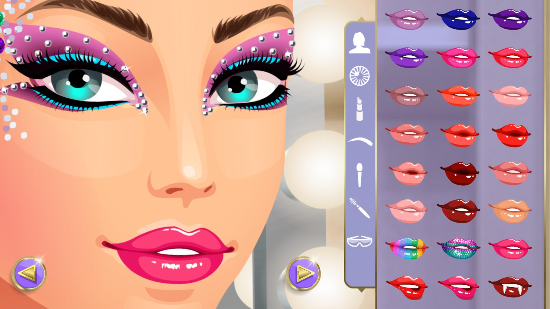 Dress Up Star Cool Fun Makeup Games