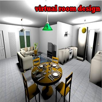 virtual room design poster