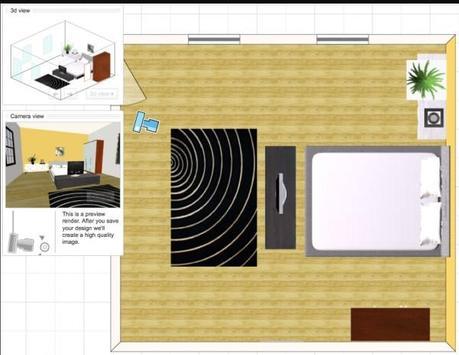 virtual room design screenshot 2