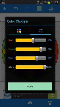 App para colorear poster