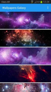 Wallpapers Galaxy apk screenshot