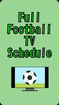 Football Schedule TV apk screenshot