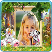 Lovely Kids Photo Frames HD icon