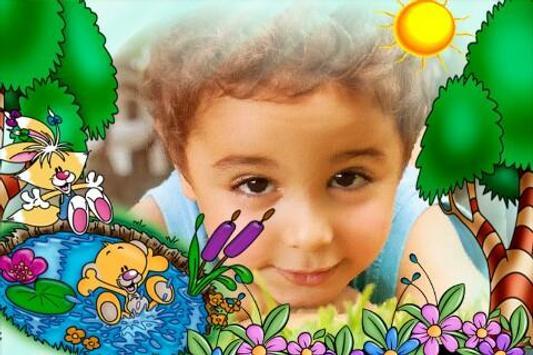 Lovely Kids Photo Frames HD apk screenshot