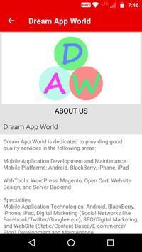 Dream App World screenshot 1