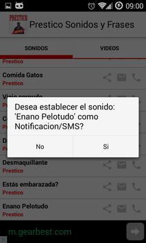Prestico - Sounds & Videos screenshot 3