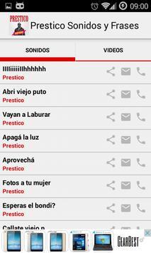 Prestico - Sounds & Videos screenshot 1