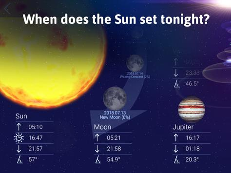 Star Walk 2 Free - 夜空地图: 观看天空中的星星,星座,行星和卫星 apk 截图
