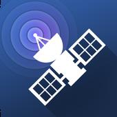 Satellite Tracker أيقونة