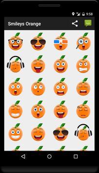 Smileys Orange poster