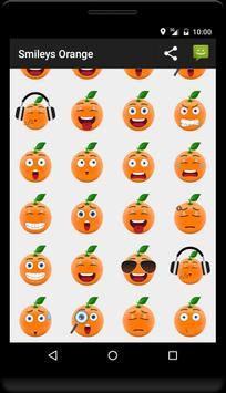 Smileys Orange apk screenshot
