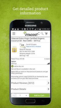 Vitacost: Healthy Living, Delivered apk screenshot