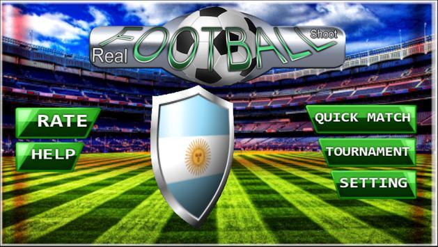 Flick Real Football poster