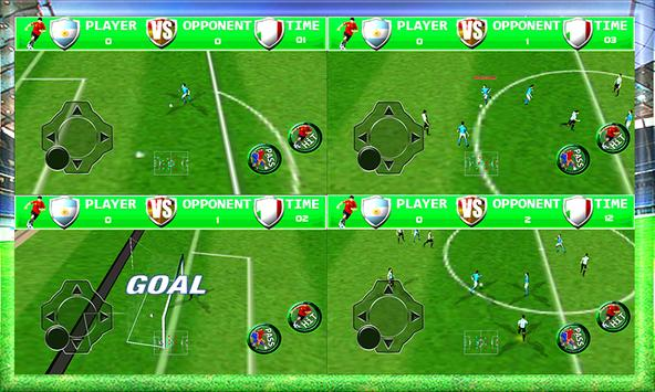 Flick Real Football apk screenshot