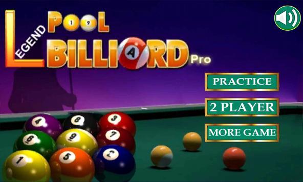 Legend:Pool Billiard Pro poster