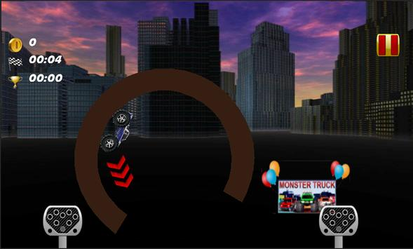 Monster Truck 4 Fun Stunts screenshot 11