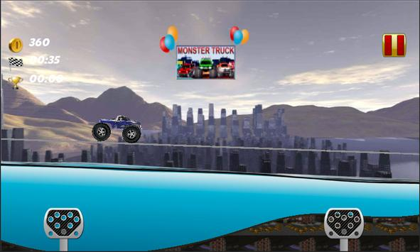 Monster Truck 4 Fun Stunts screenshot 7