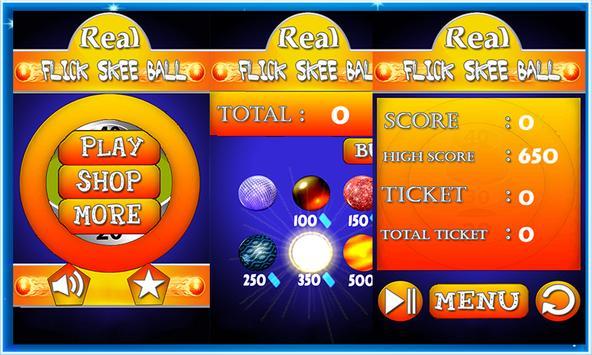 Real Flick Skee Ball poster