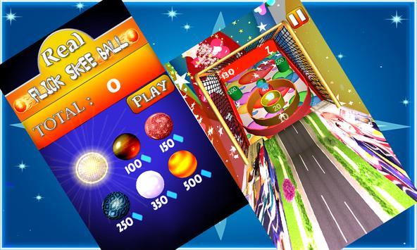 Real Flick Skee Ball apk screenshot